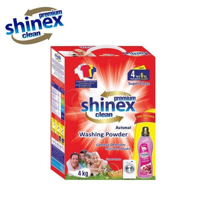 Shinex Automat Washing Powder 4 Kg Softener