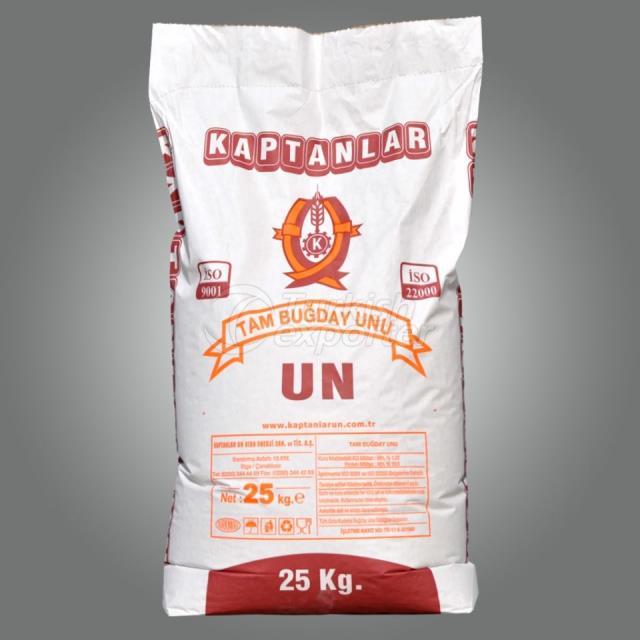 Whole Wheat Flour 25kg