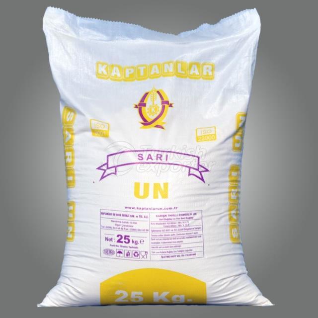 Yellow Flour