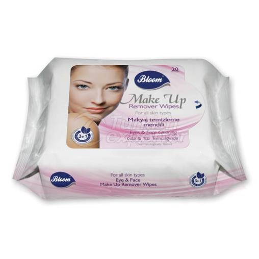 Make-Up Remover Wipes 20 pcs