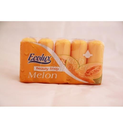 ECOLUX SOAP 5 75 GR ECOPACK MELON