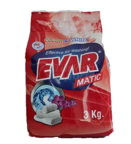 EVAR POWDER DETERGENT 3kg Color