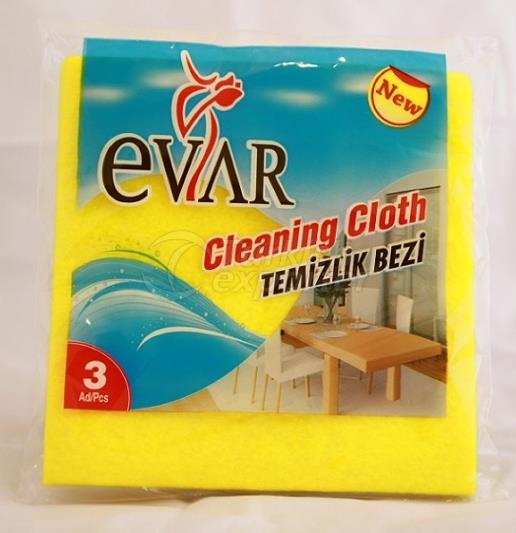EVAR CLEANING CLOTH 3pcs