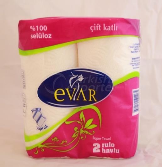 EVAR 2 pcs PAPER TOWEL