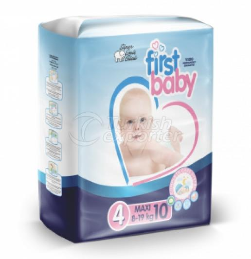 FIRST BABY 1 NO NEWBORN BABY DIAPER 3-6 KG