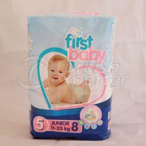 FIRST BABY 5 NO JUNIOR BABY DIAPER 11-25 KG