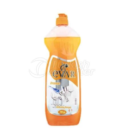 EVAR DISHWASHING LIQUID 750 ML ORANGE