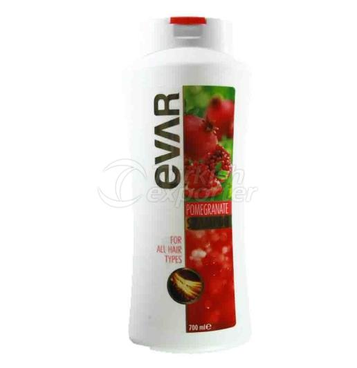 EVAR SHAMPOO 700 ML POMEGRANATE