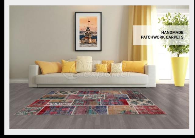 Handmade Patchwork Carpet