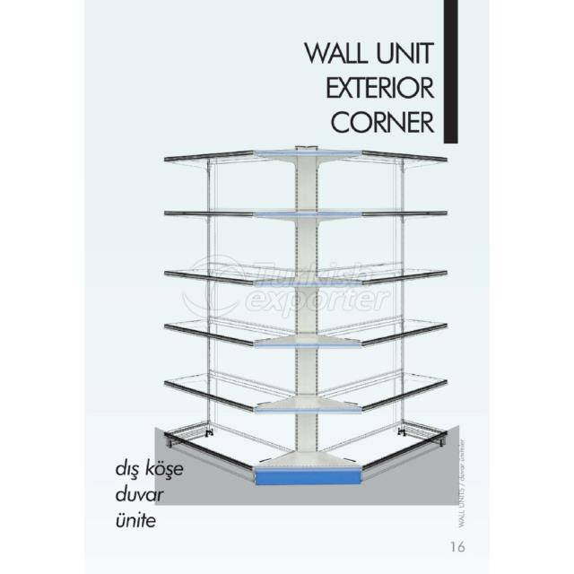 Wall Unit Exterior Corner