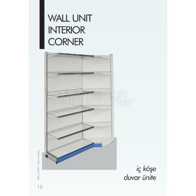 Wall Unit Interior Corner