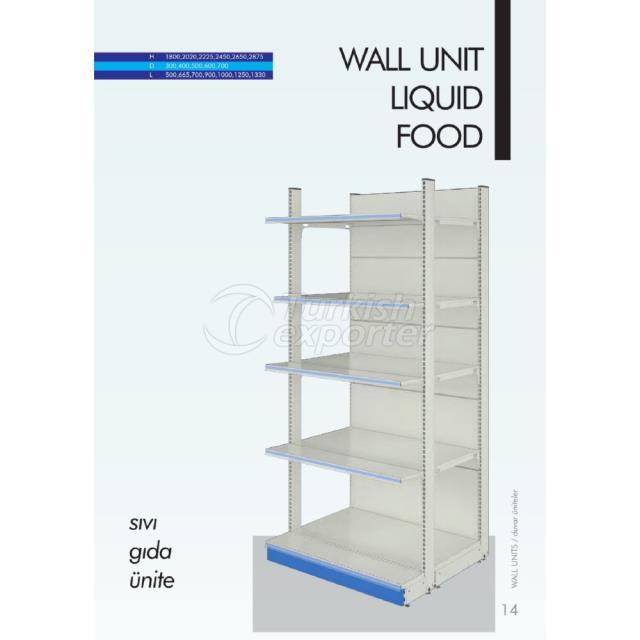 Wall Unit Liquid Food