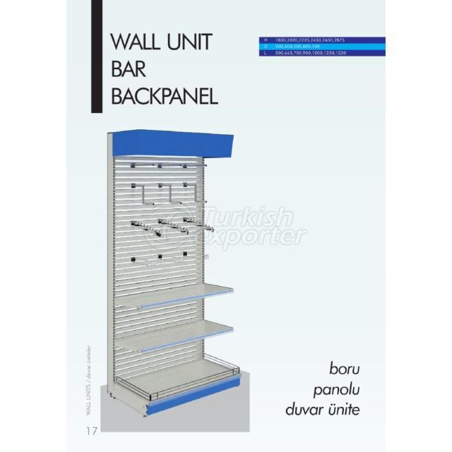 Wall Unit Bar Backpanel