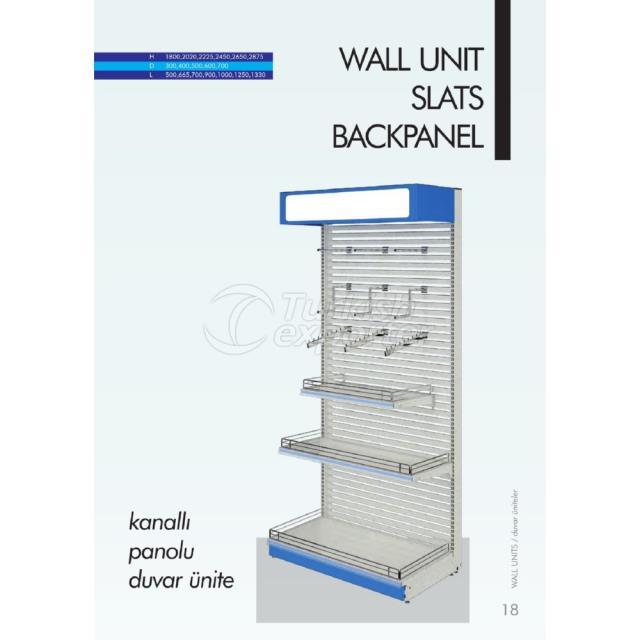 Wall Unit Slats Backpanel