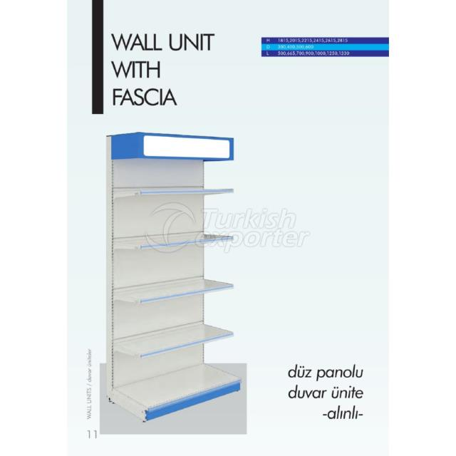 Wall Unit with Fascia