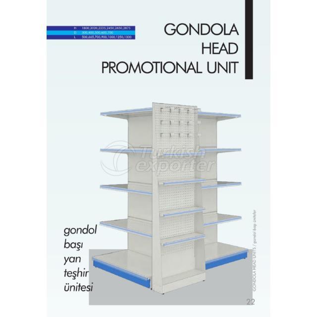 Gondola Head Promotional Unit
