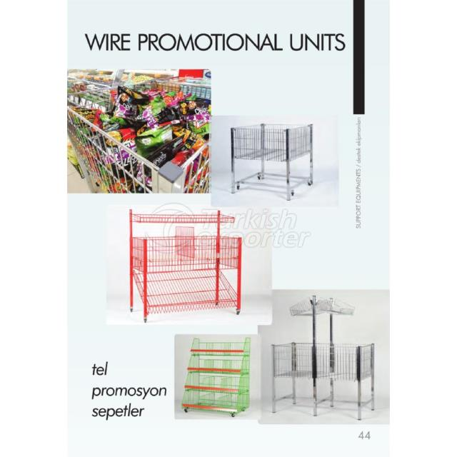Wire Promotional Units
