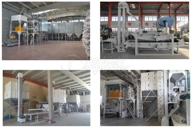 Sunflower Seeds Screening Plant