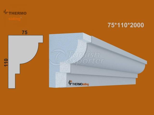 Facade Windowsill Model 2120