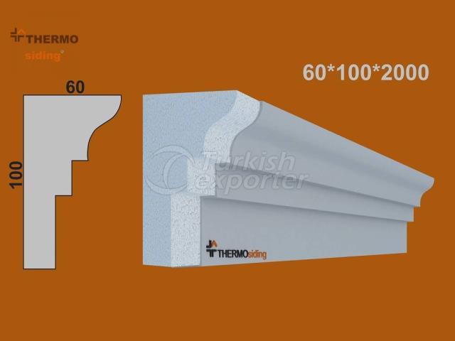 Facade Windowsill Model 2020