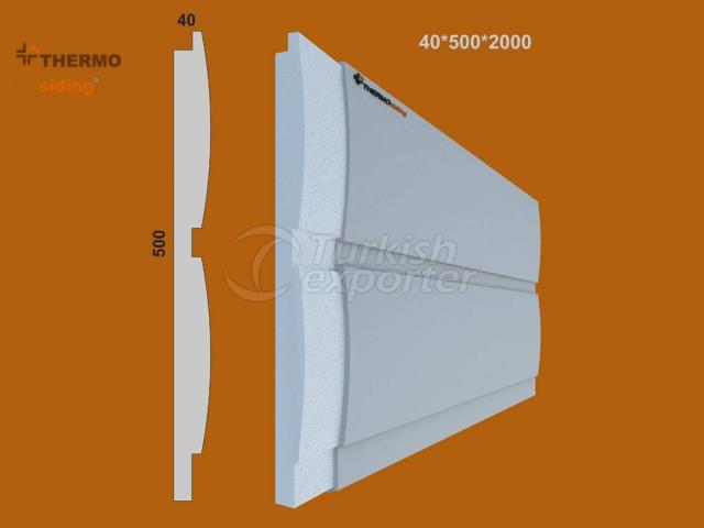 Fluted Cladding Model 03