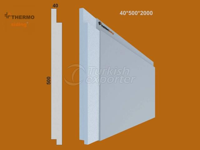 Fluted Cladding Model 04