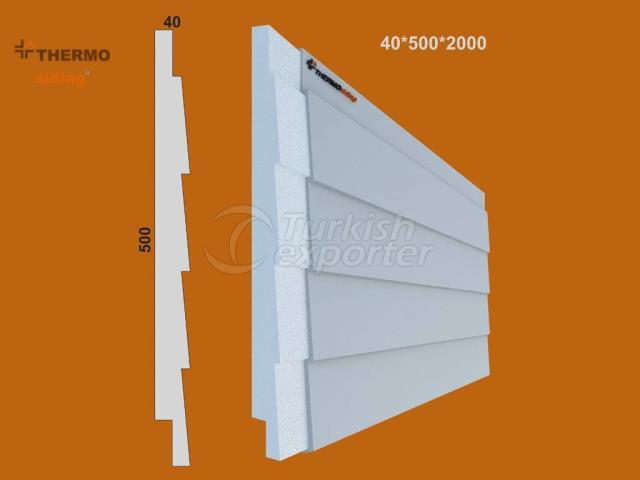 Facade Weatherboarding Model 02