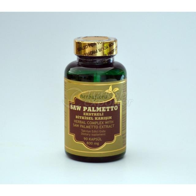 Saw Palmetto Herbal Extracts