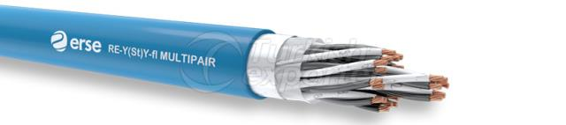 Instrument Cables RE-Y(St)Y-fl