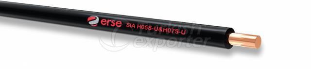 Silicone Cables SIA H05S-U-H07S-U