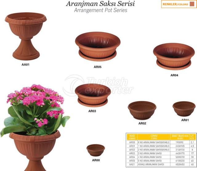 Arrangement Pot