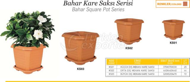 Bahar Square Pot