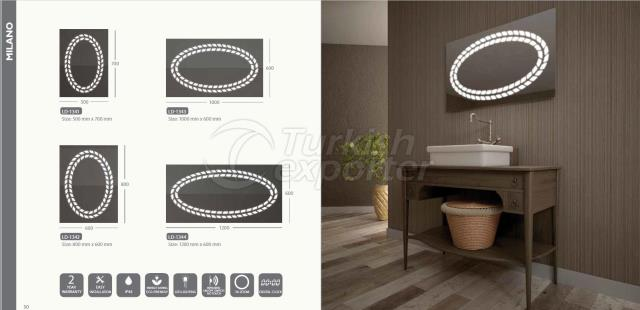 Illuminated Led Mirrors Milano