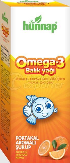 Omega 3 with Orange