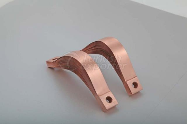 Press-Riveted Copper Flexible Connectors