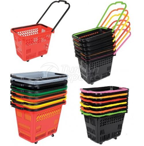 Shopping Basket On Wheels MS-07