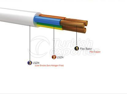 Installation Cables H05Z1Z1-F