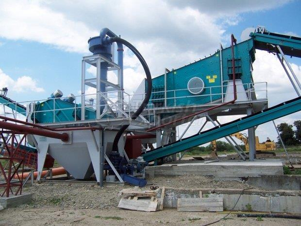 Hydrocyclone and Dewatering Screen