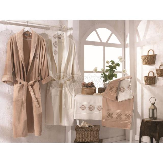 VELVET FAMILY BATHROBE SET