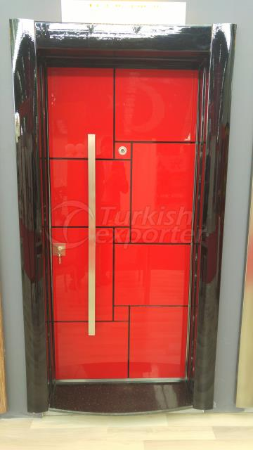Decorative Steel Door