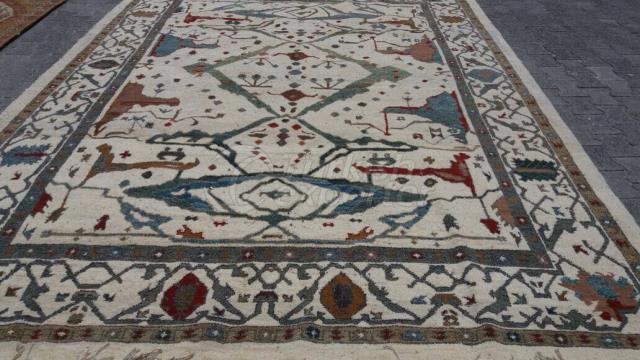 handmade old rug