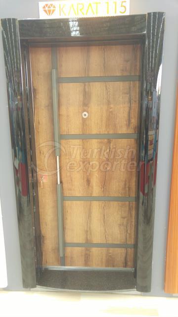 Office entrance door