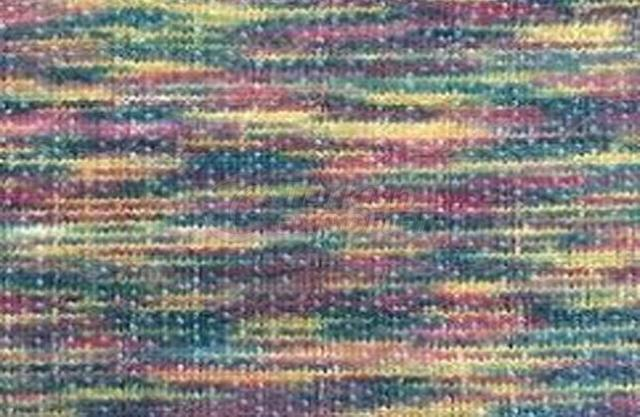 Painted Yarn Degrade Knitted Fabrics