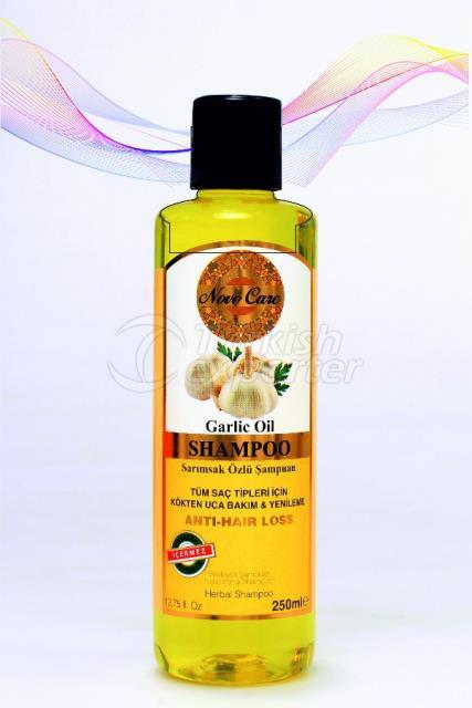 Shampoo With Garlic Extract