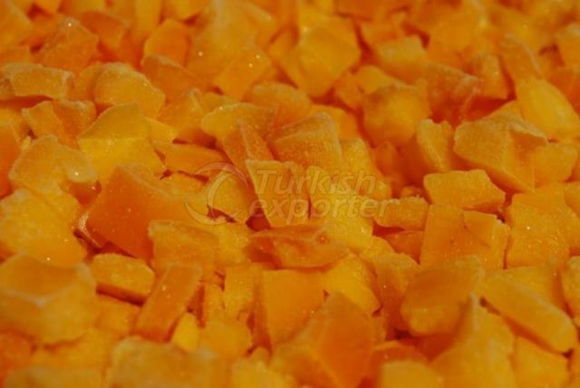 Frozen Yellow Pepper Dices