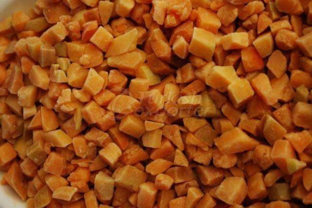 Frozen Apricot Dices