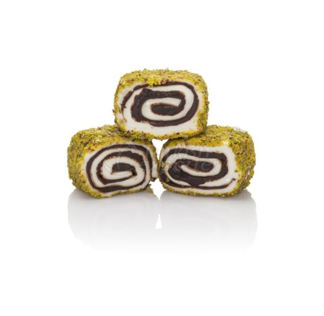 Sultan Turkish Delight with Chocolate - Pistachio
