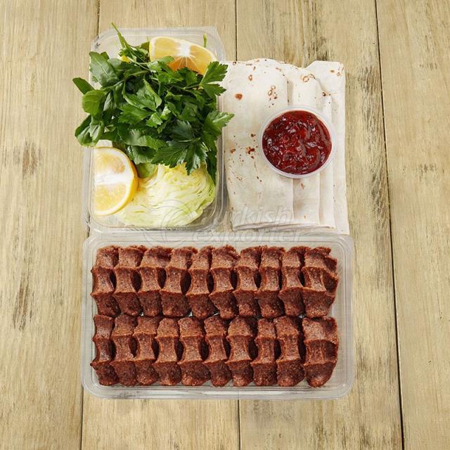 500 g Full Portion Roll Steak Tartar A La Turca