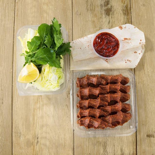 250 g Half Portion Roll Steak Tartar A La Turca