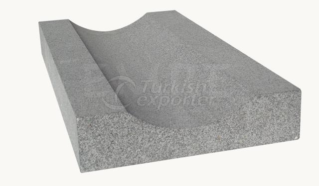Basalt Water Gutter